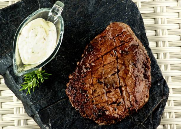 Delicious Roast Beef stock photo