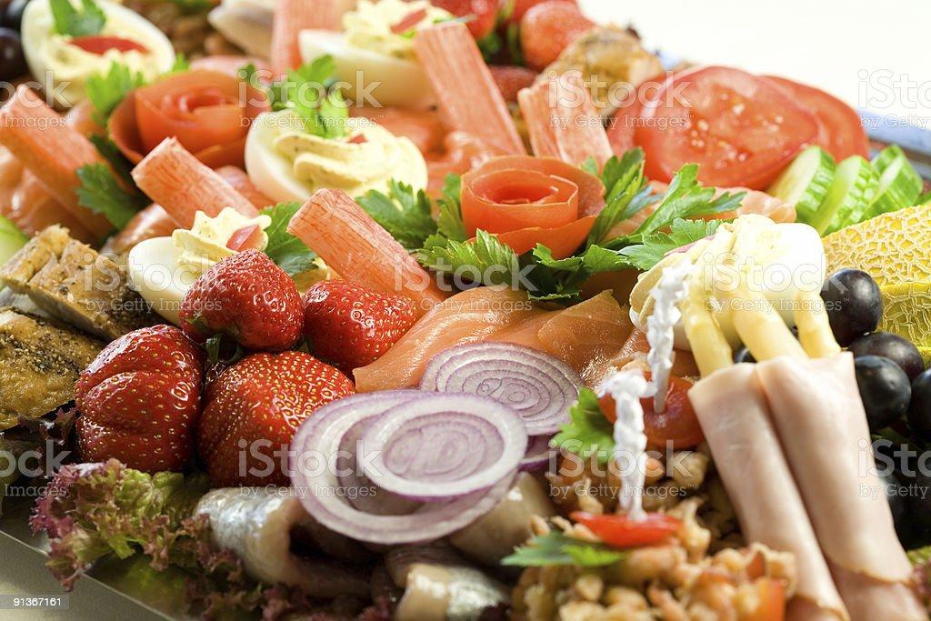 Delicious salad royalty-free stock photo