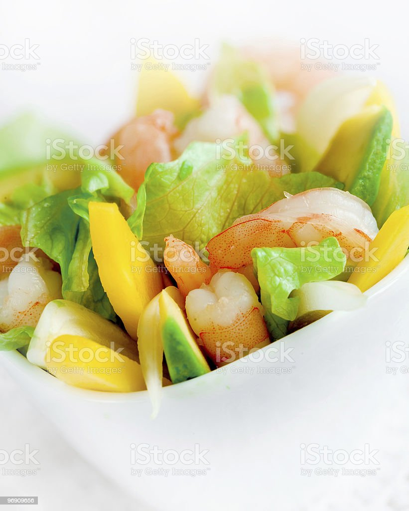 Delicious salad royalty-free stock photo