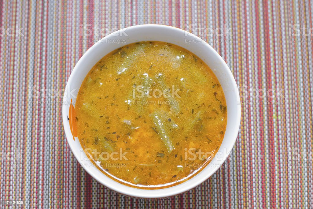 Delicious Soup royalty-free stock photo