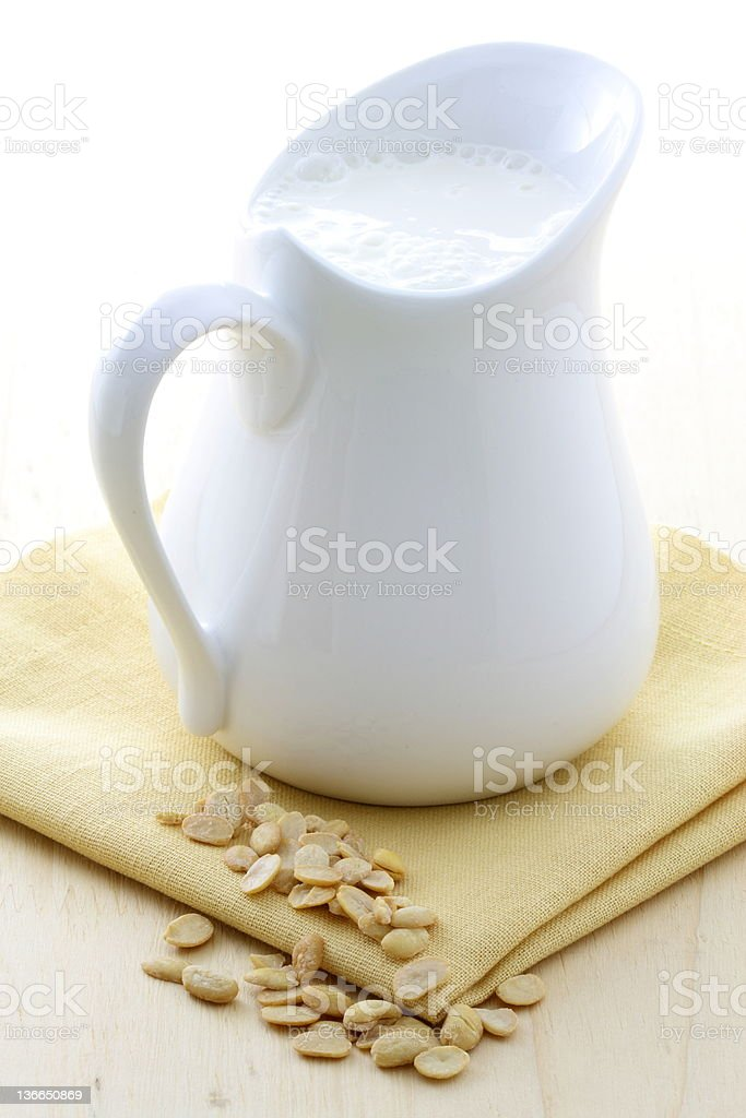 delicious soy milk royalty-free stock photo