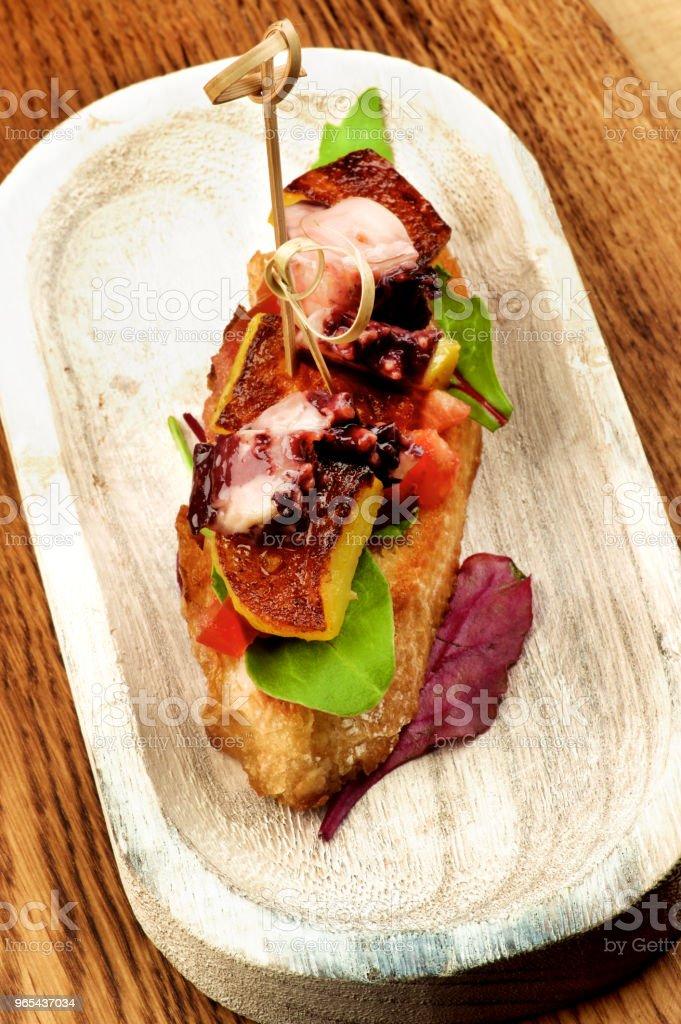 Delicious Spanish Tapas zbiór zdjęć royalty-free
