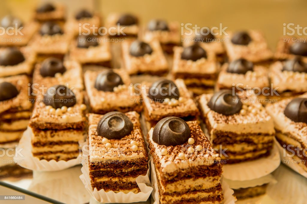 Marvelous Delicious Sweet Cakes Decorated With Chocolate Candy Sweet Home Interior And Landscaping Synyenasavecom