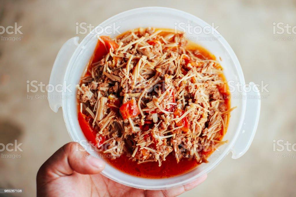Delicious Thai Food zbiór zdjęć royalty-free