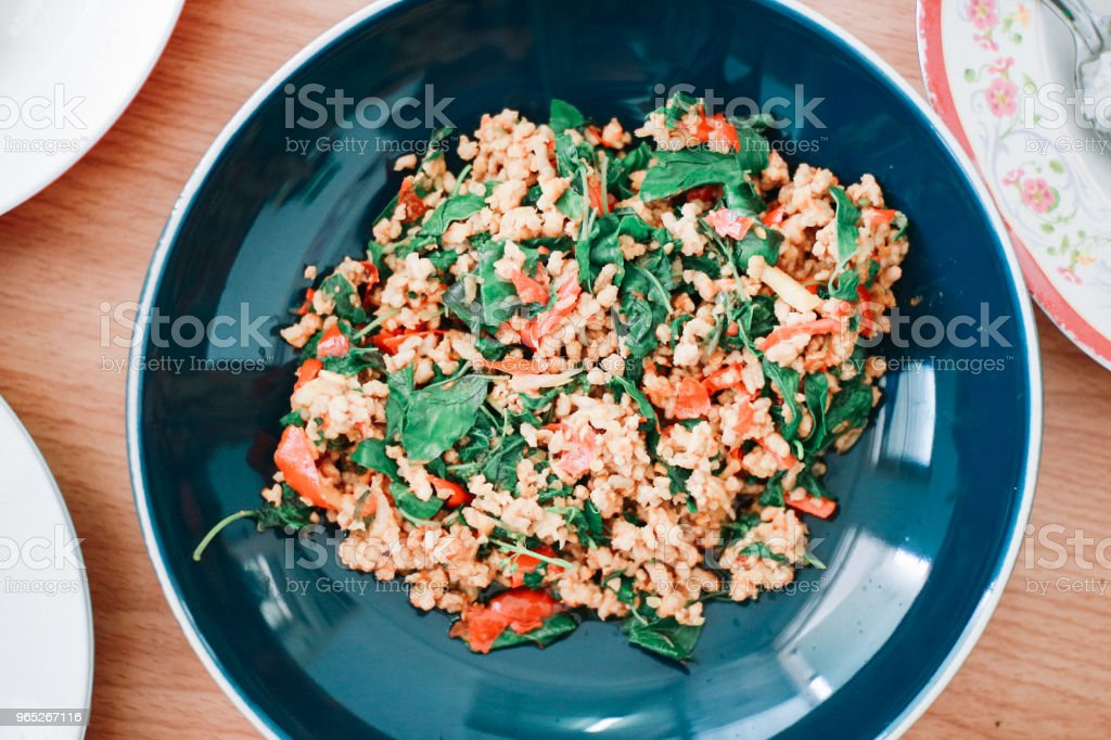 Delicious Thai Food royalty-free stock photo