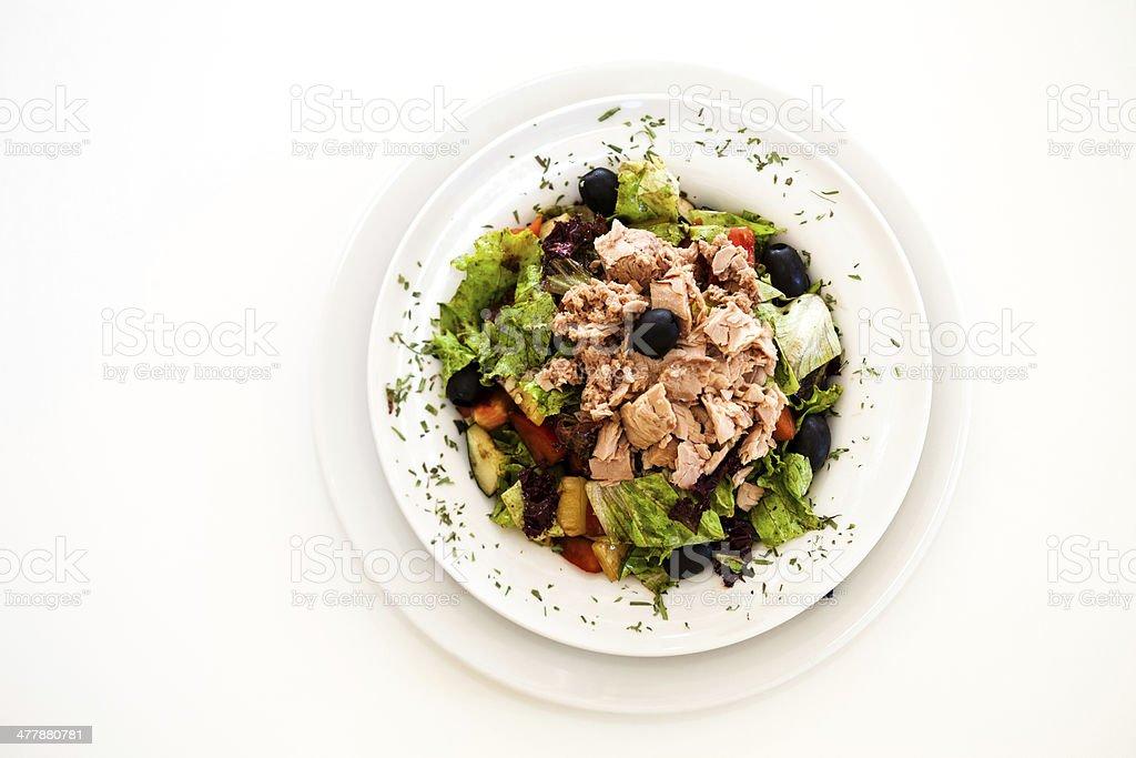 Deliciosa Salada de atum - foto de acervo