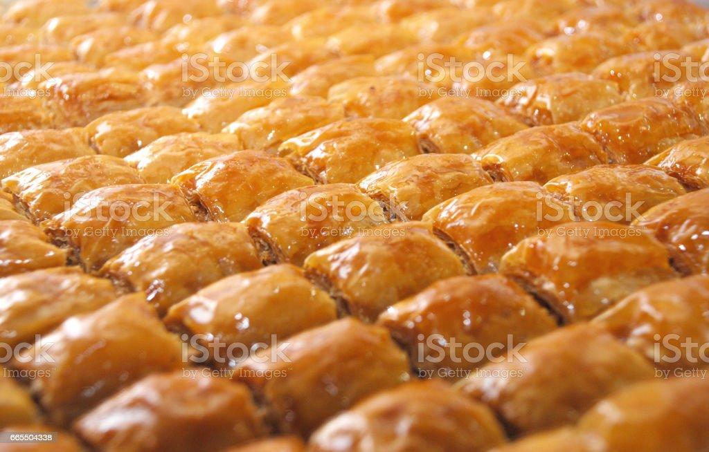 Sweet turque délicieuse: Baklava - Photo