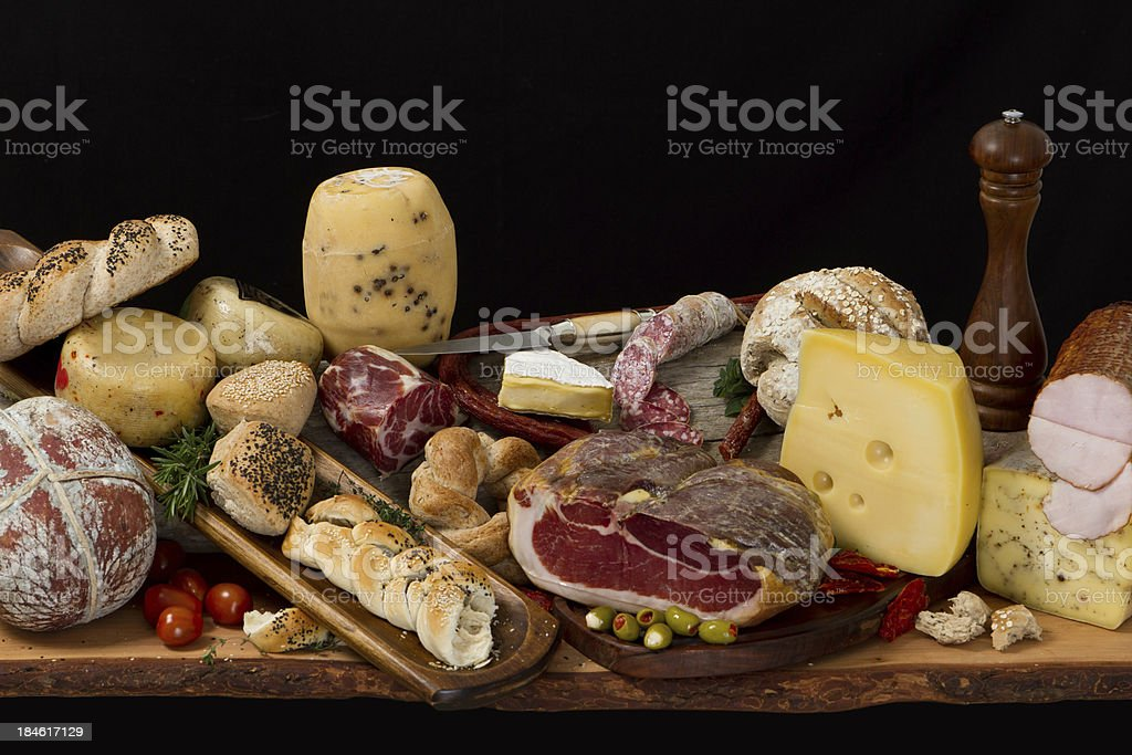 Delicious typical argentinean antipasto royalty-free stock photo
