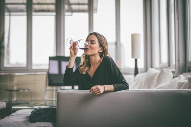 Delicious wine stock photo