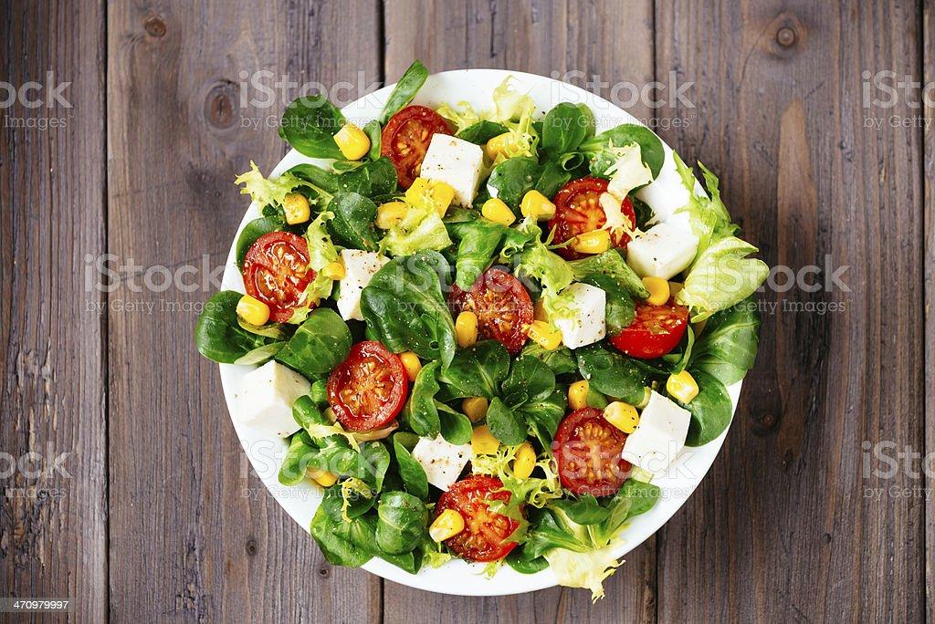 Delicius Abnehmen eine gesunde grünem Salat – Foto