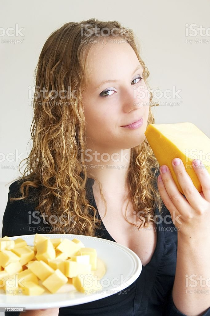 Delightful cheese royalty-free stock photo