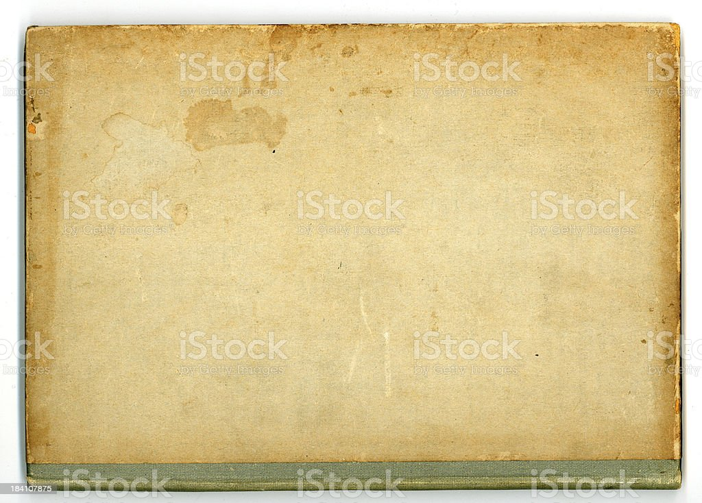 delightfully grubby book royalty-free stock photo