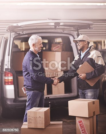 istock Delivered by the best in the business 532328750