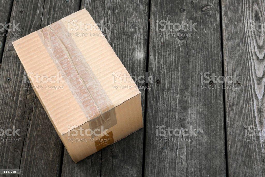 Caja de entrega - foto de stock