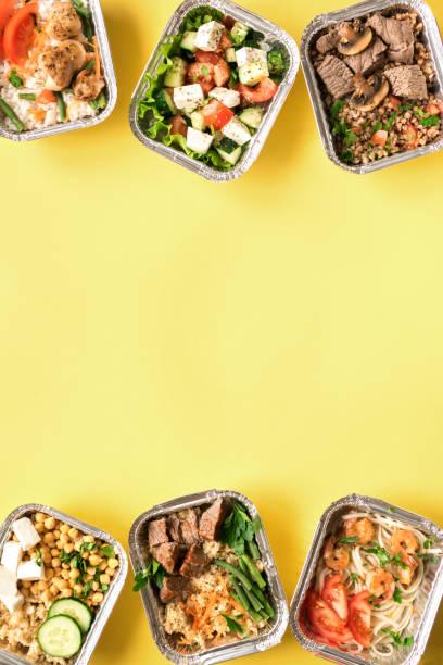 Zustellung gesunder Ernährung – Foto