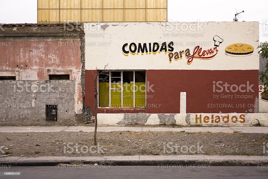 Delivery lunches restaurant royalty-free stock photo