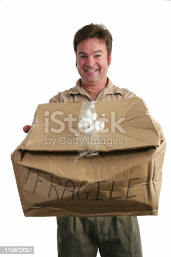 istock Delivery Man In Denial 115872037