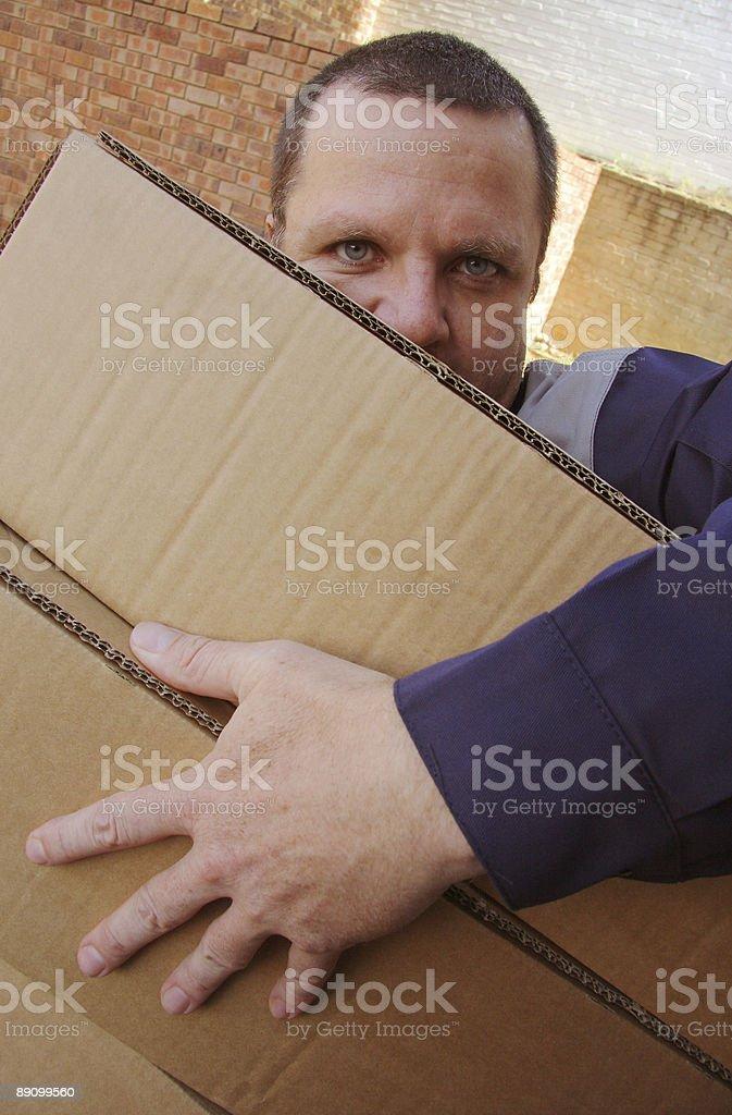 Hombre entrega una foto de stock libre de derechos