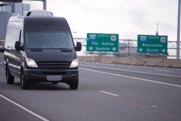 Delivery of parcels and goods on time is a real challenge for drivers who experience constant stress due to the large number of cars on the road. This will help to cope using such a compact and maneuverable roomy minivan. - Photo