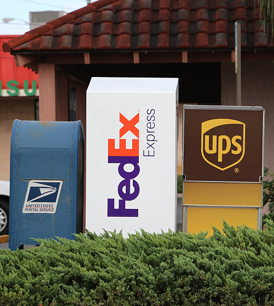 Delivery Options stock photo