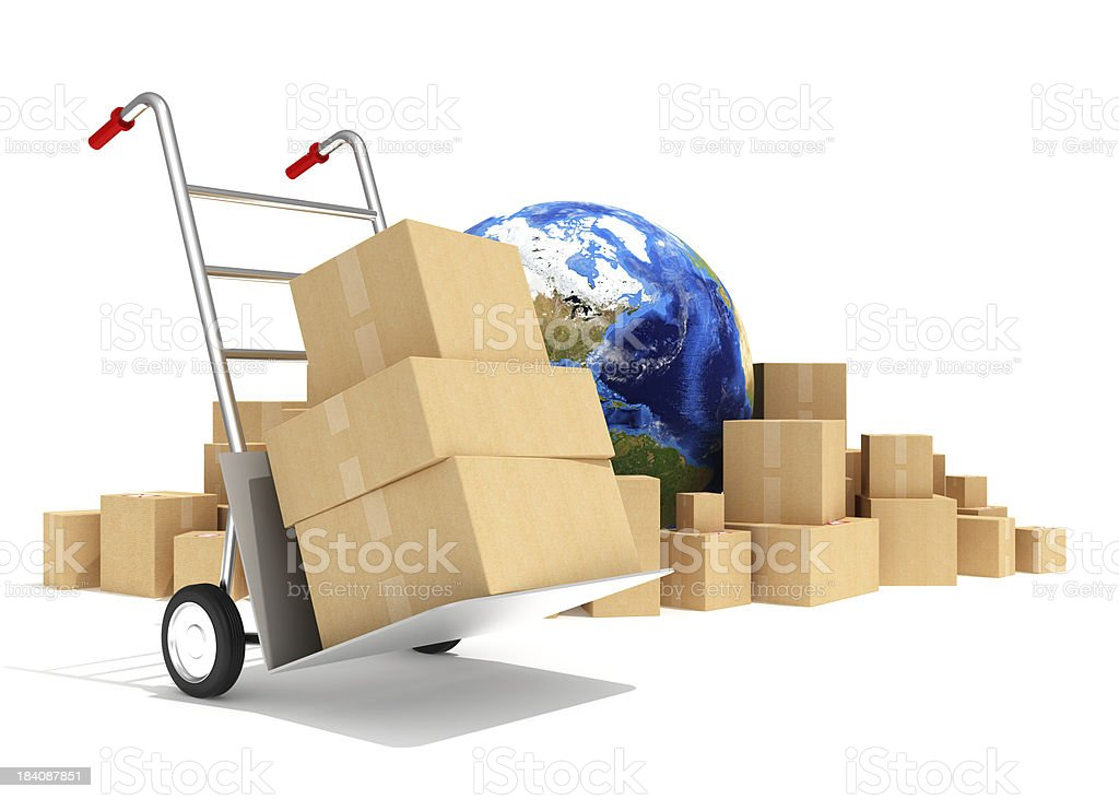 Delivery royalty-free stock photo