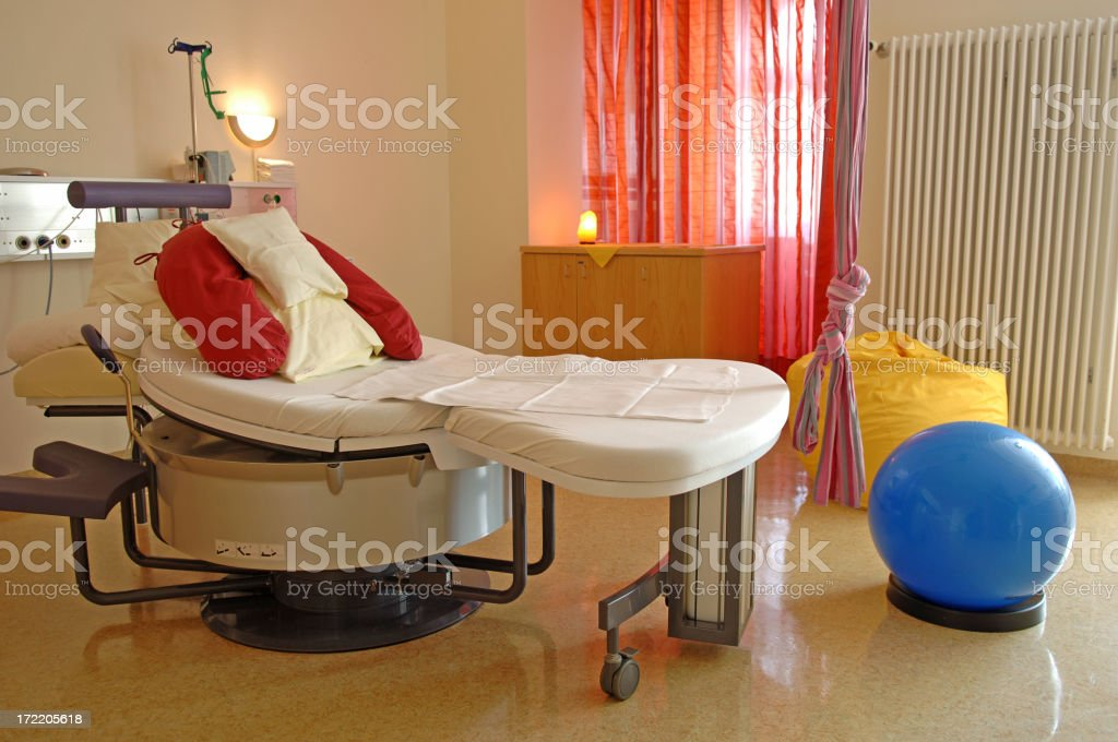 Delivery room #3 stock photo