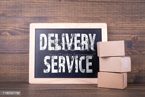 istock Delivery service concept 1132207792