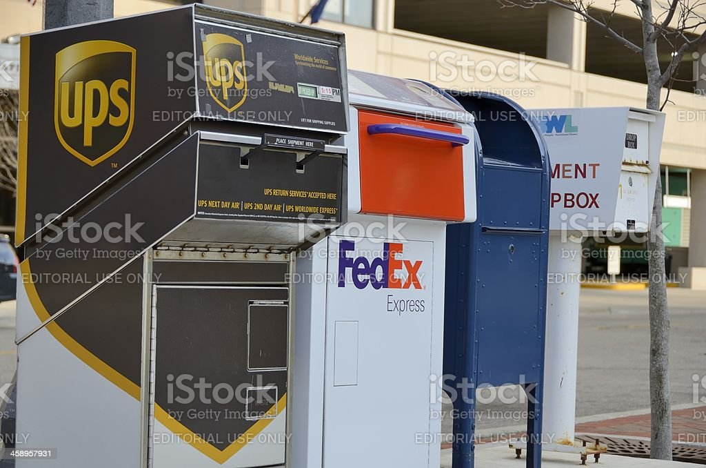 Delivery Services stock photo