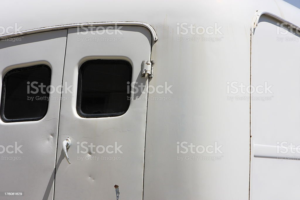 Delivery Truck Commercial Freight Van stock photo