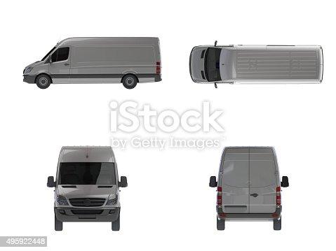istock Delivery Van(XXXXXL) 495922448