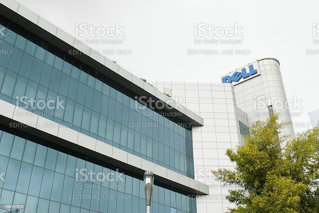 Dell in India stock photo