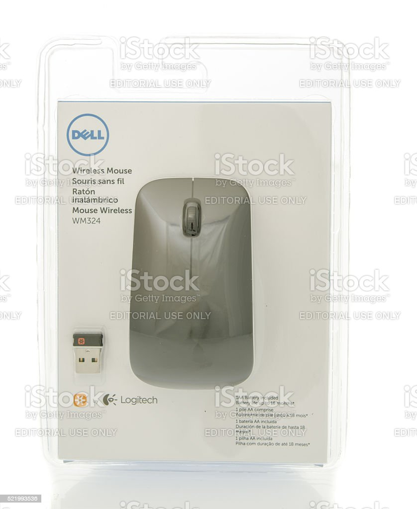 Dell Mouse stock photo