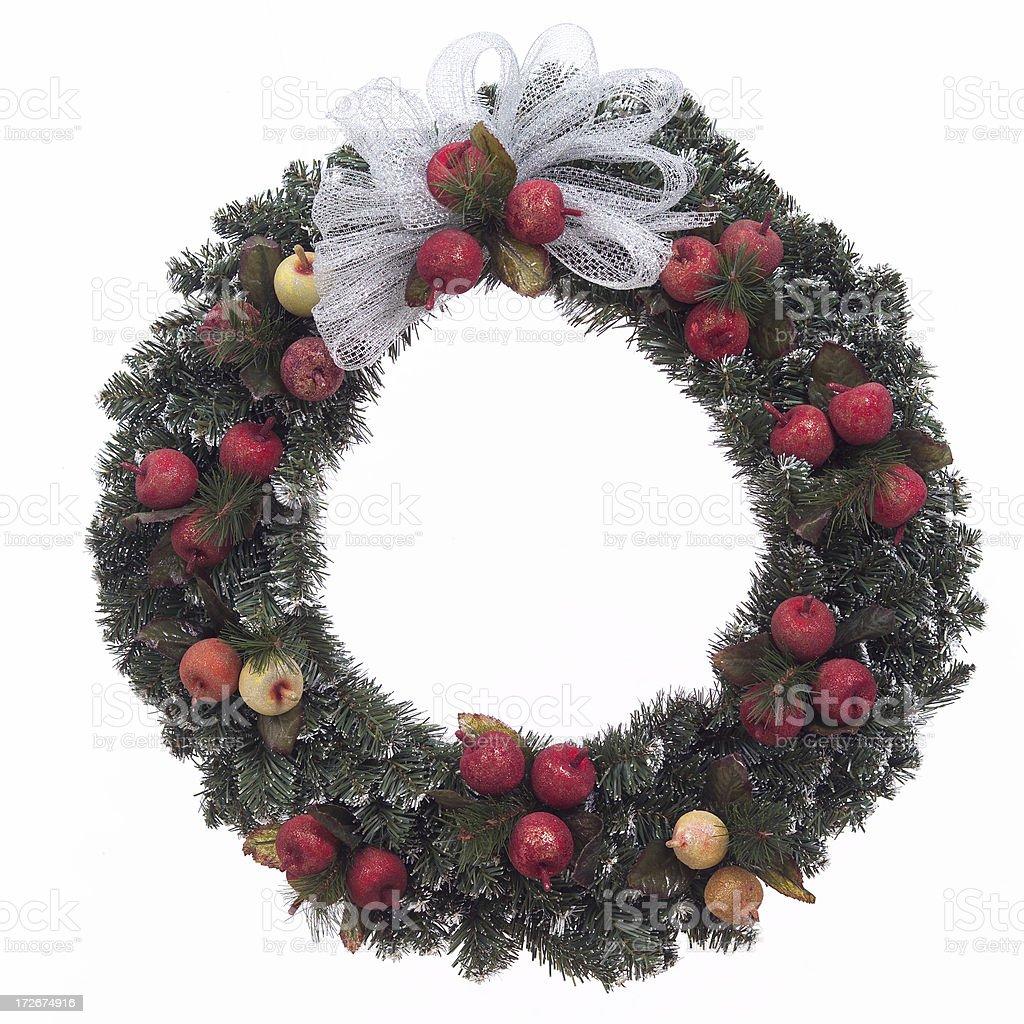 Della robia wreath royalty-free stock photo