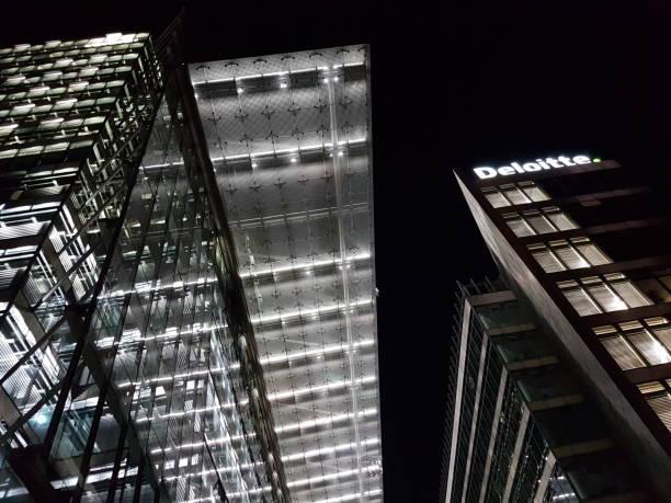 Deloitte Company Germany Berlin stock photo