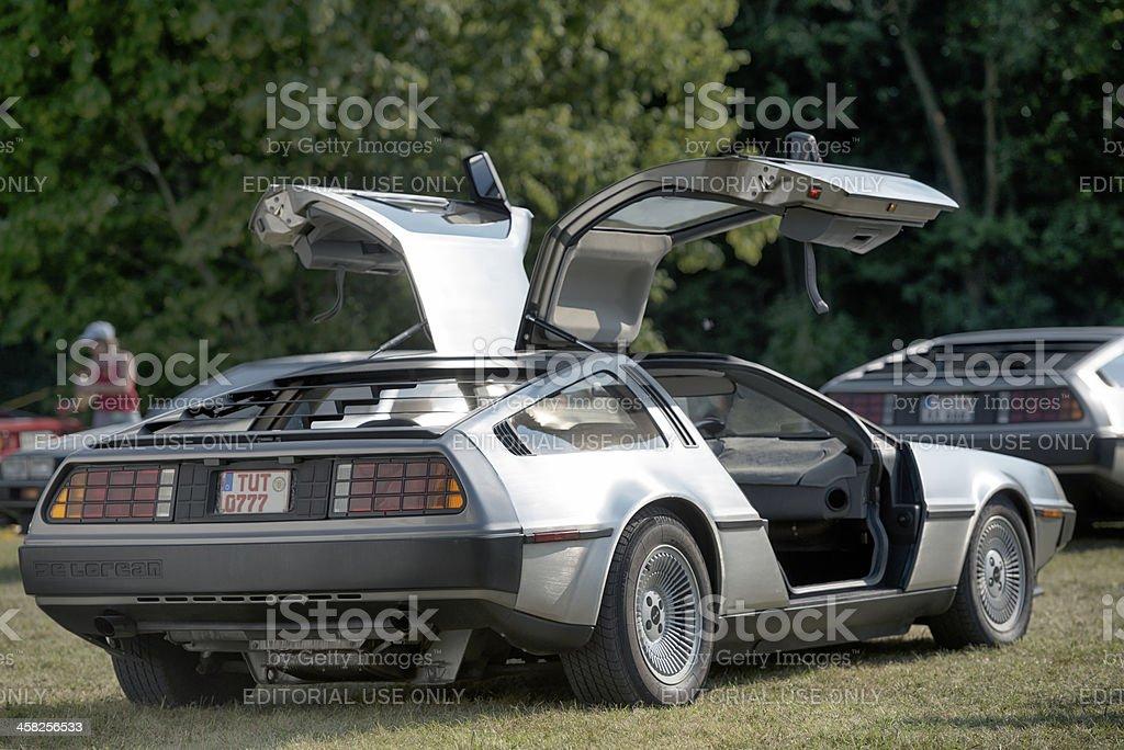 DeLorean DMC-12 stock photo