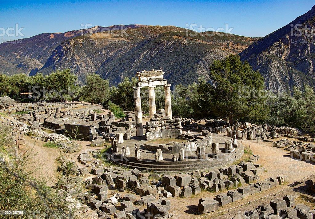 Delphi - Greece - Ancient Site stock photo