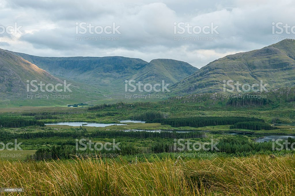 Delphi Valley, Mayo, Ireland royalty-free stock photo
