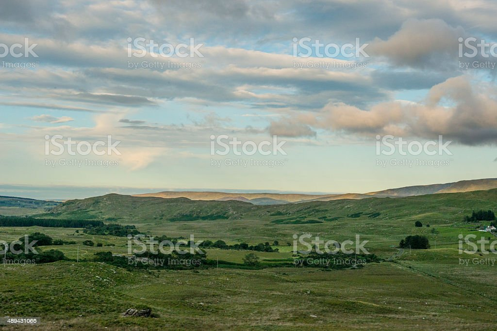 Delphi Valley, Mayo, Ireland royalty-free stock photo