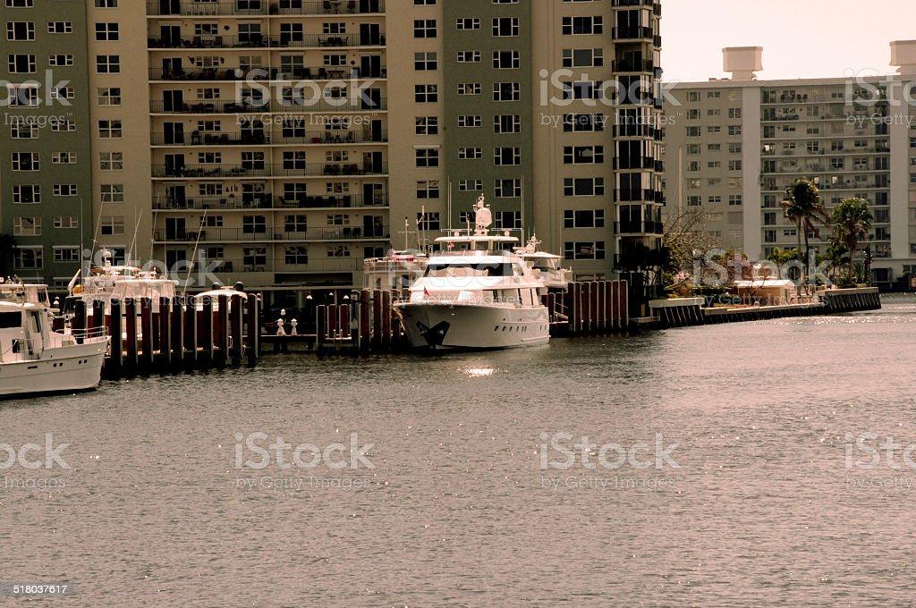 Delray Beach Intercoastal stock photo