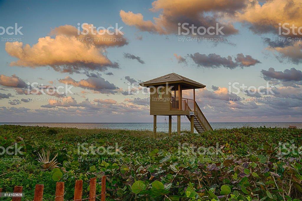 Delray Beach stock photo