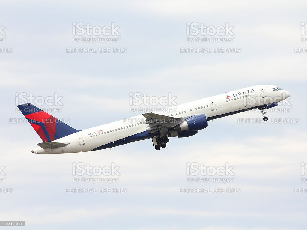 Delta Air Lines stock photo