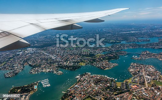 istock Delta Airlines Flight DAL40 airbourne 969485632