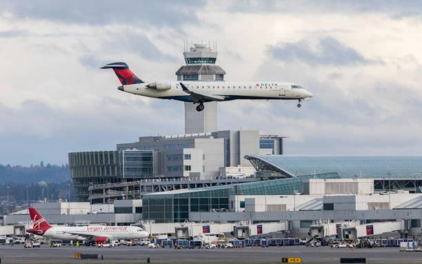Delta CRJ Portland International. – Foto