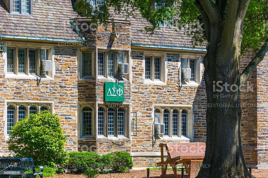 Delta Sigma Theta at Duke University stock photo