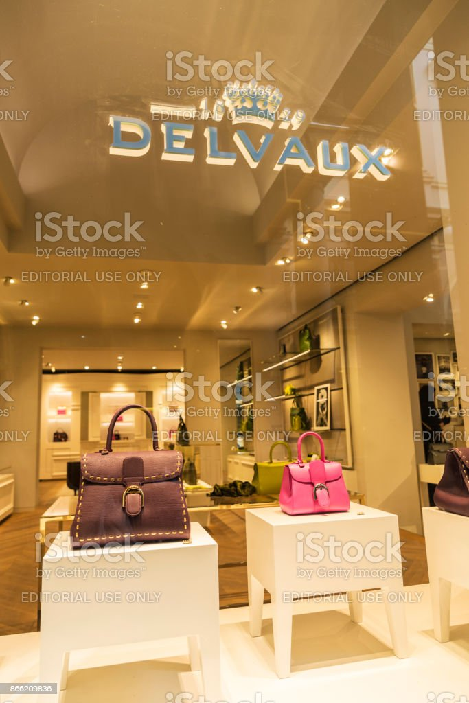 b0de8edc6f813 Delvaux Store In Brussels Belgium Stock Photo   More Pictures of ...