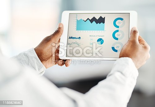 istock Delving into the latest business stats 1155828582