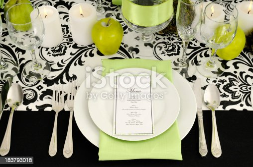 istock Demasque Formal Table Designs For 2010 183793018
