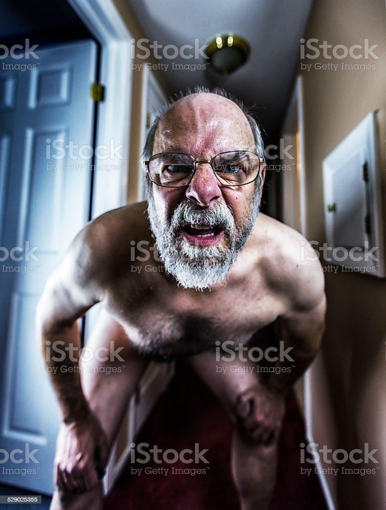 Alt mann nackt Nude Photos 16