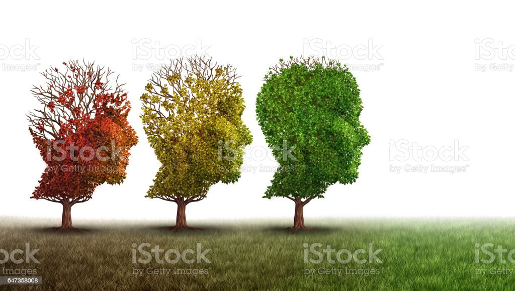 Dementia And Mental Health Recovery stock photo