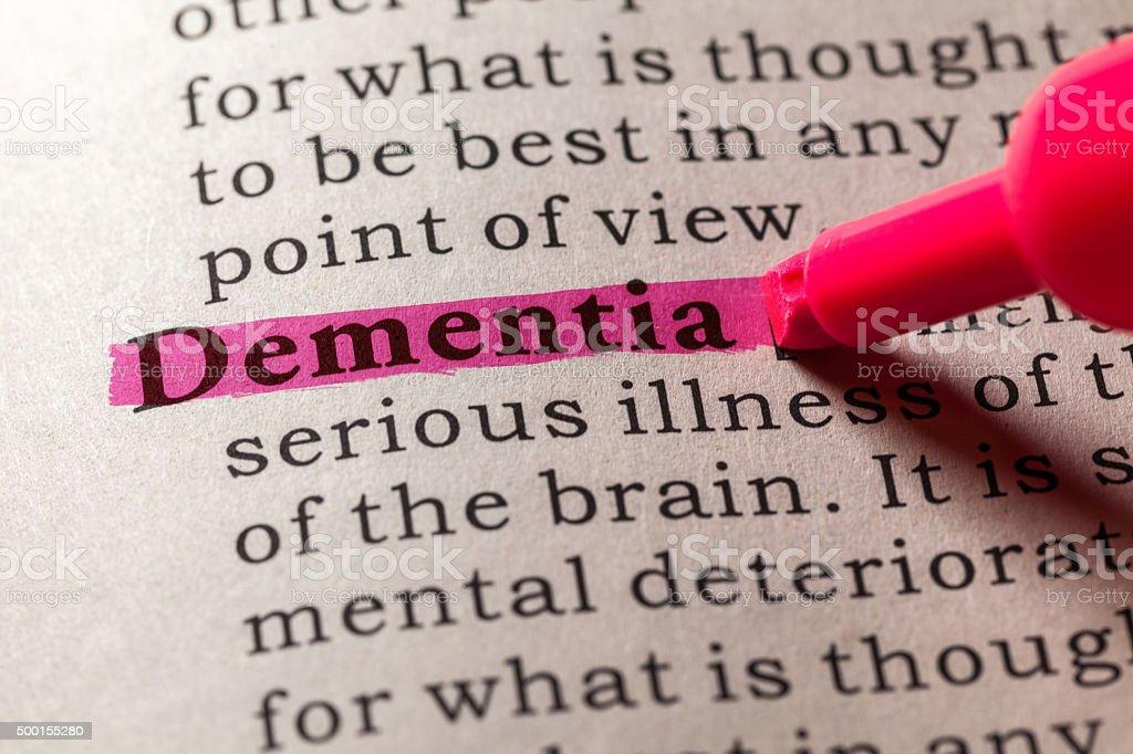 dementia stock photo